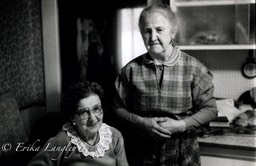Annie and Vera portrait 1989