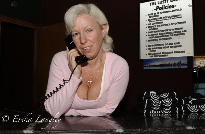 Candy Girl, front desk
