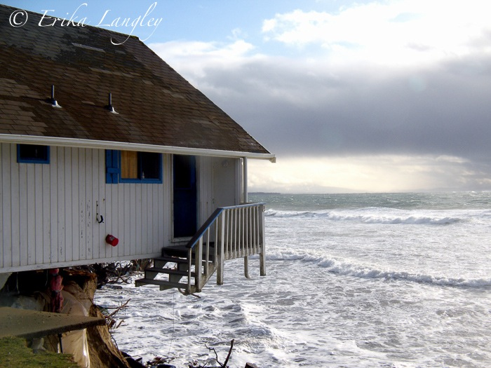 Flying porch, Washaway Beach